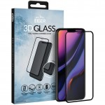Szkło do etui Eiger 3D Glass iPhone 11, XR, czarne