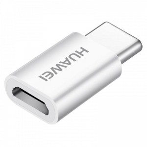 Adapter Huawei MicroUSB do USB-C, biały
