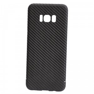 Etui Nevox Real Carbon Galaxy S8 Plus, czarne