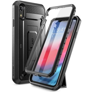 Etui Supcase Unicorn Beetle Pro iPhone XR, czarne