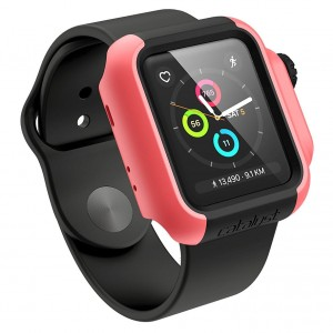 Etui Catalyst Impact Protection, Apple Watch 38mm Series 2/3, różowe