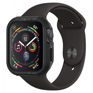 Etui Spigen Rugged Armor Apple Watch 5/4 - 44mm, czarne