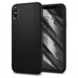 Etui Spigen Liquid Air iPhone X/Xs, matowe czarne