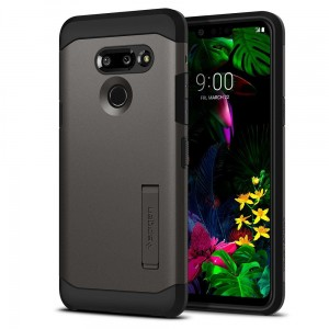 Etui Spigen Tough Armor LG G8 ThinQ, stalowe