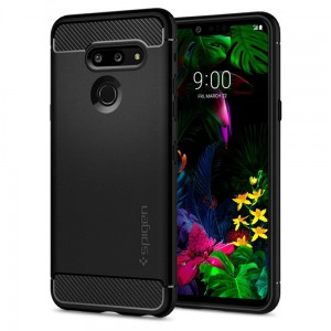 Etui Spigen Rugged Armor LG G8 ThinQ, czarne