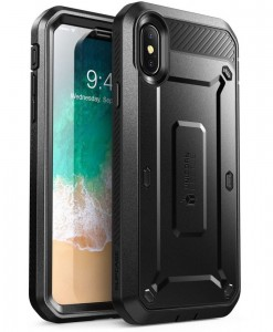 Etui Supcase Unicorn Beetle Pro iPhone X/Xs, czarne