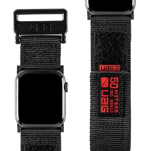 Pasek Urban Armor Active Apple Watch 44/42mm S1-4, czarny
