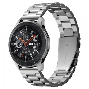 Pasek Spigen Band Modern Fit Galaxy Watch 46mm, srebrny