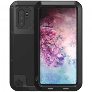 Etui Pancerne LOVE MEI Powerful Galaxy Note 10 Plus, czarne