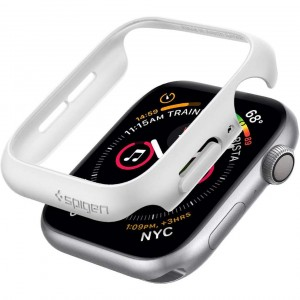 Etui Spigen Thin Fit Apple Watch 5/4 - 44mm, białe