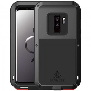 Etui Pancerne LOVE MEI Powerful Galaxy S9 Plus, czarne