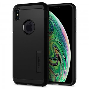 Etui Spigen Tough Armor iPhone Xs Max, czarne