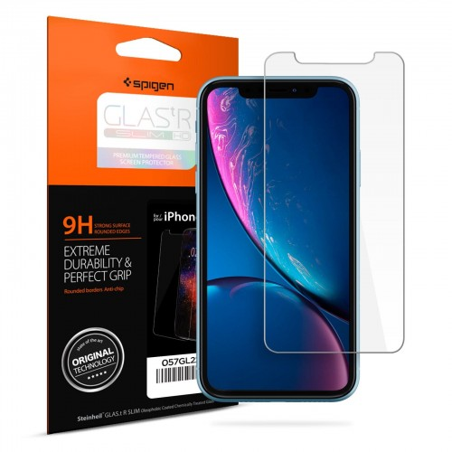 Spigen Glastr Slim HD - iPhone XR - Clear 21.jpg