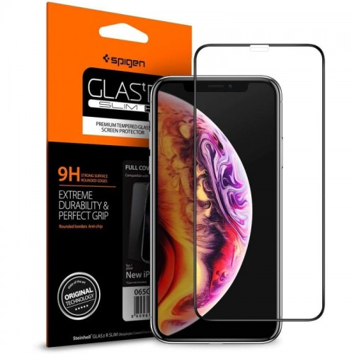 Spigen Glas.tr - Slim Full Cover - iPhone XS Max - black 20.jpg