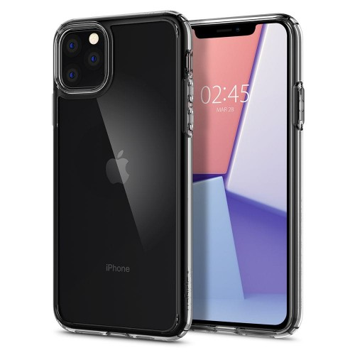 Spigen - Ultra Hybrid - iPhone 11 Pro Max - Crystal Clear 01.jpg