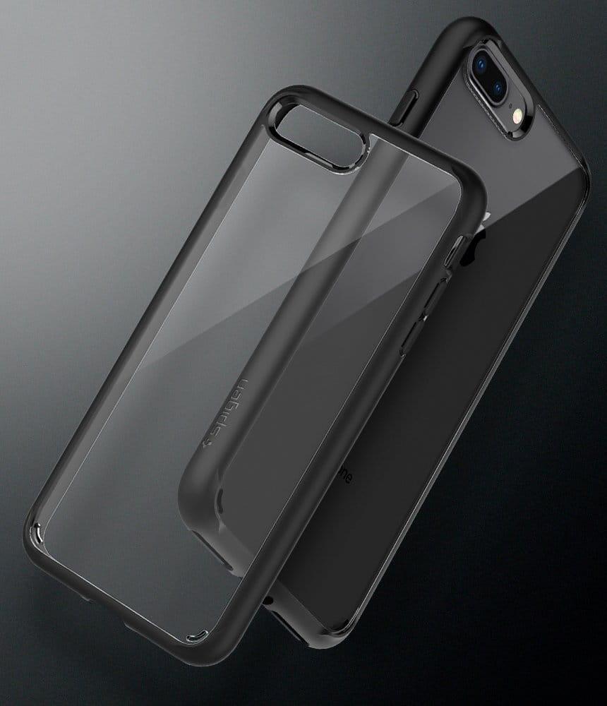 Etui Spigen Ultra Hybrid 2 Iphone 78 Plus Czarne Rearth 7 Edge Black 87 27