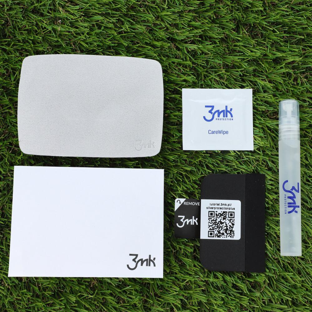 Antimikrobielle Bildschirmschutzfolie 3mk aus der Serie Silver Protection+.