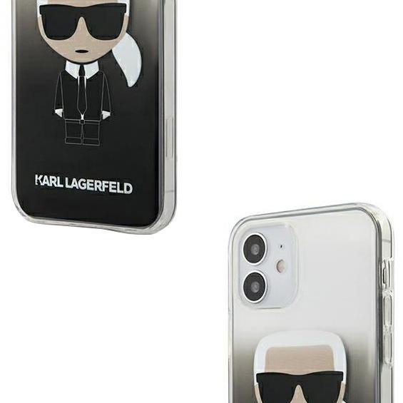 Eine exklusive Hülle aus der Serie Hard Case der Marke Karl Lagerfeld