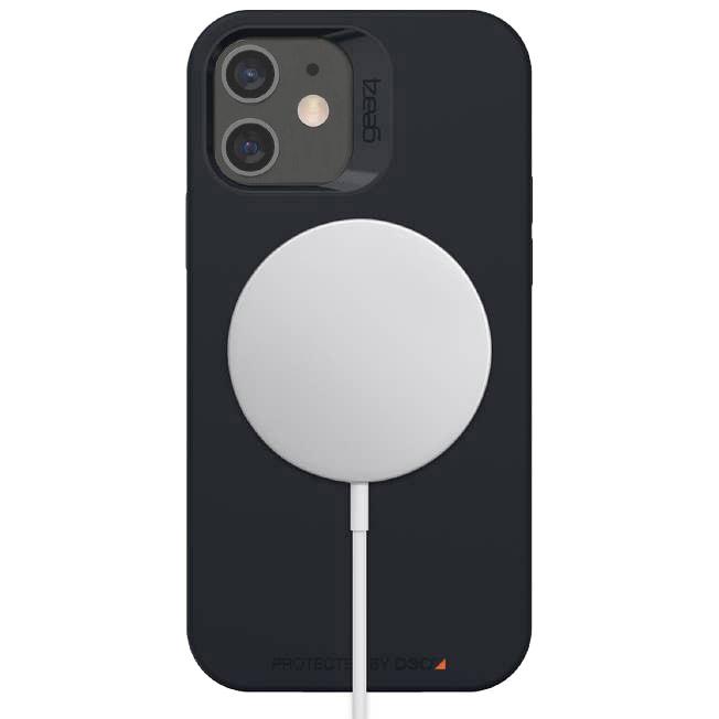 Oryginalne etui od marki Gear4 z serii Rio Snap dla iPhone 12 Mini, czarne