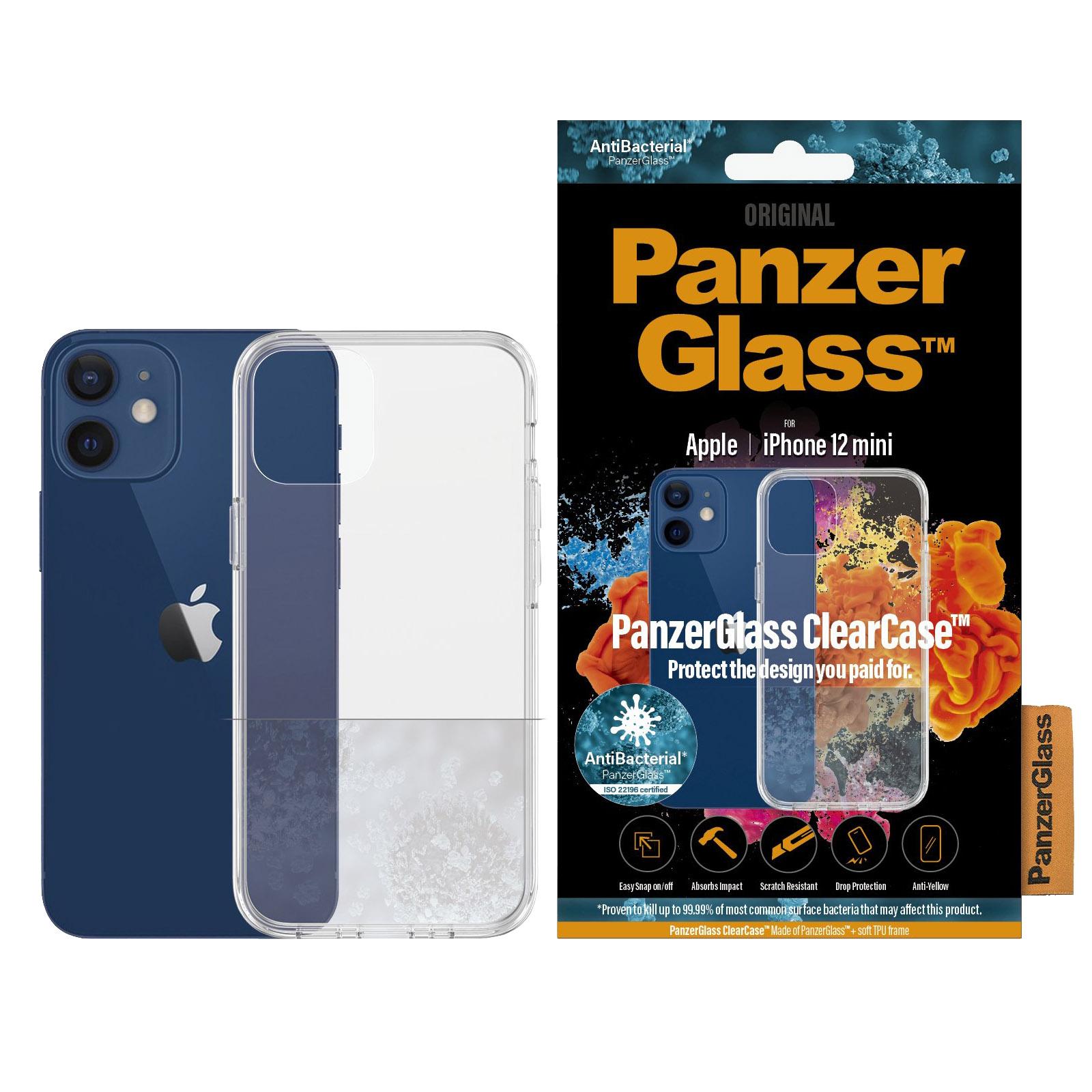 Eine originelle antibakterielle Hülle der Marke PanzerGlass aus der Serie ClearCase
