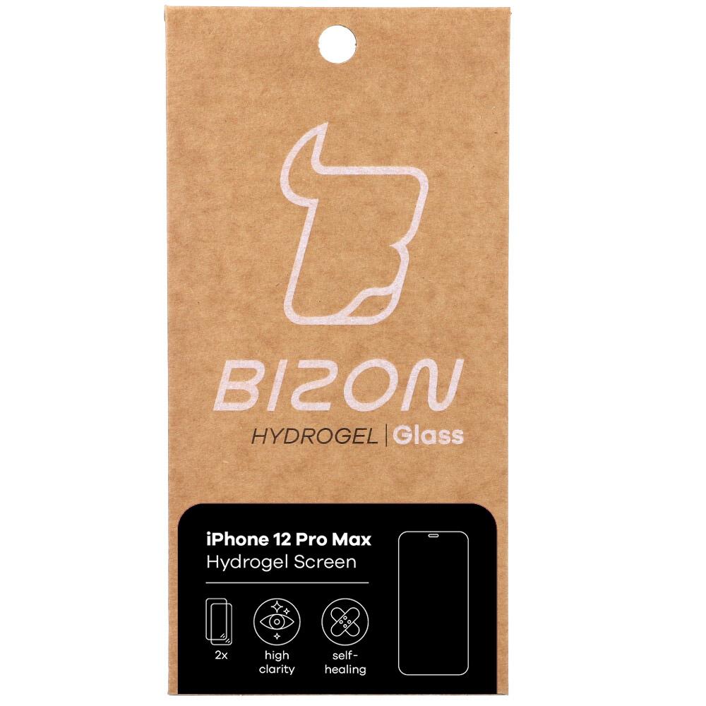 Hydrogel Folie Bizon Glass Hydrogel, 2 Stück