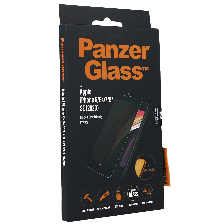 Antibakterielles Glas PanzerGlass Case Friendly Edge to Edge Privacy Filter
