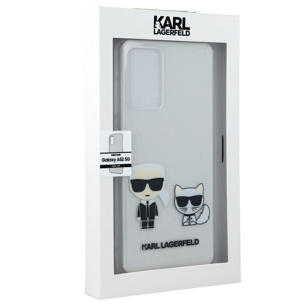 Exklusive Hülle Hard Case Glitter Karl & Choupette von Karl Lagerfeld