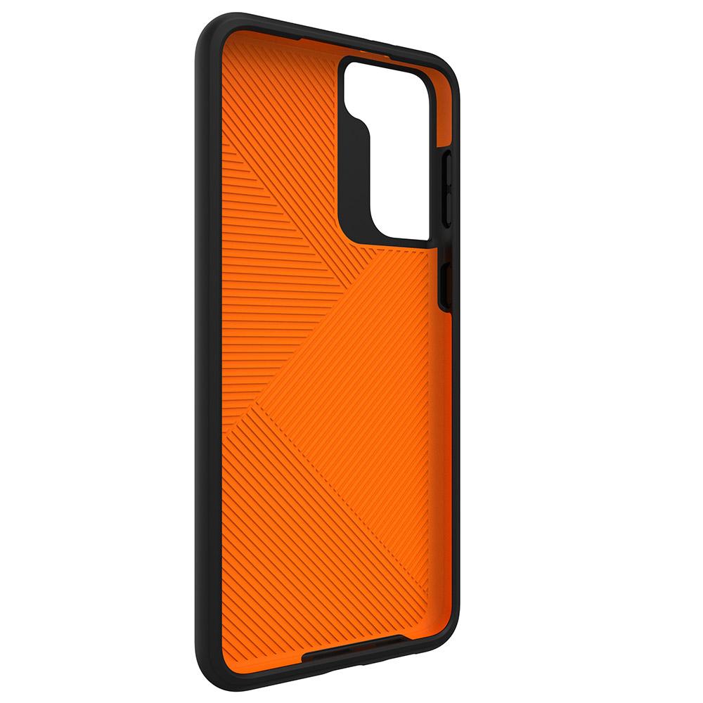 Oryginalne etui od marki Gear4 z serii Denali dla Galaxy S21 Plus 5G, czarne.