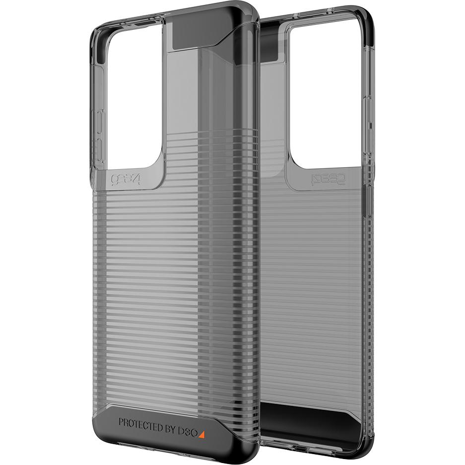 Oryginalne etui od marki Gear4 z serii Havana dla Galaxy S21 Ultra 5G, przydymione
