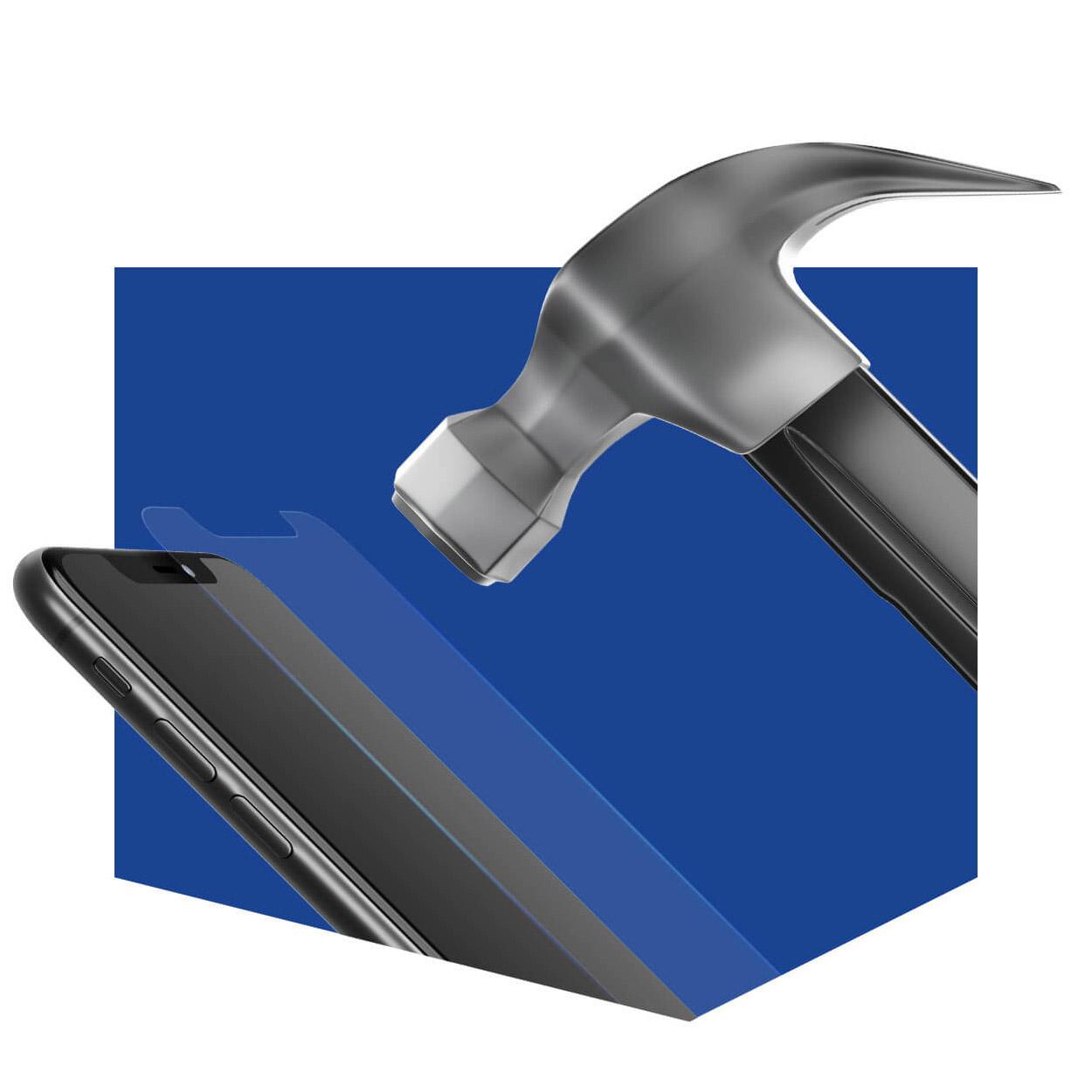Bildschirmschutzfolie 3mk Hammer